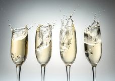 Champagne. Congratulating Event  Flute Toast Party Celebration royalty free stock photos