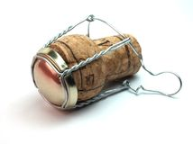 Champagne cork Royalty Free Stock Photography