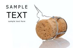 Champagne cork Royalty Free Stock Image