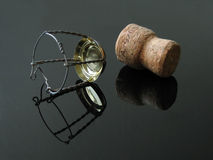 Champagne cork. Royalty Free Stock Photos