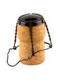 Champagne cork. The cork and top from a Champagne or sparkling wine bottle Stock Photography