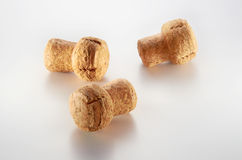 Champagne Cork. On clean background Royalty Free Stock Photo