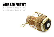 Champagne Cork Royalty Free Stock Images