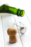 Champagne cork Royalty Free Stock Photo