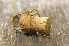 Champagne-cork Royalty-vrije Stock Fotografie