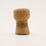 Champagne cork. On a white background stock images