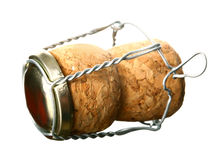 Champagne cork without any brand marks Royalty Free Stock Photos