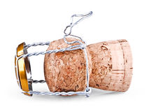 Champagne cork Stock Photography