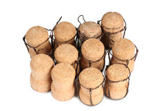 Champagne cork eight Royalty Free Stock Photos