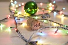 Champagne cork Stock Image