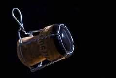 Champagne cork isolated Stock Photography