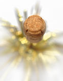 Champagne cork isolated Stock Photos