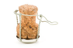 Champagne Cork Lid Stock Image