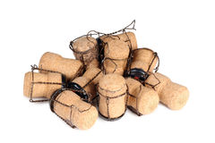 Champagne cork one Royalty Free Stock Images