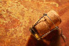 Champagne cork Stock Photos