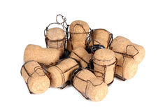 Champagne cork three Stock Image