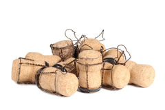 Champagne cork two Royalty Free Stock Photos