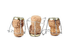 Champagne corks Royalty Free Stock Photo