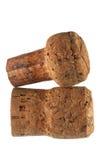 Champagne Corks Imágenes de archivo libres de regalías