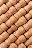 Champagne corks texture Stock Photo