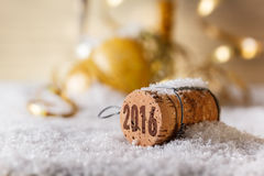 Champagne corks Stock Photos