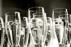Champagne corporativo del partito Immagine Stock