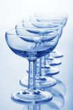 Champagne coupe glasses Royalty Free Stock Photos