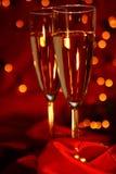 Champagne de carnaval Images libres de droits