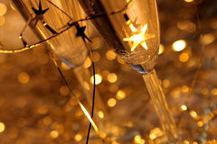 Champagne de carnaval Image libre de droits