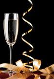 Champagne de vacances Photographie stock libre de droits