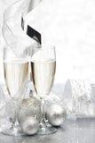 Champagne and decor Stock Photo