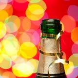 Champagne dei nuovi anni Immagine Stock