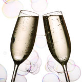 Champagne delight Royalty Free Stock Photography
