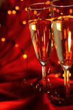 Champagne di carnevale Fotografie Stock