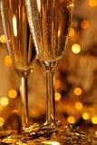 Champagne di carnevale Fotografia Stock