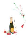 Champagne di celebrazione fotografia stock libera da diritti