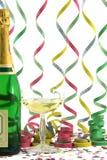 Champagne di celebrazione Immagine Stock