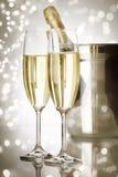 Champagne di festa Immagini Stock