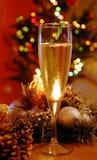 Champagne di nuovo anno fotografie stock libere da diritti