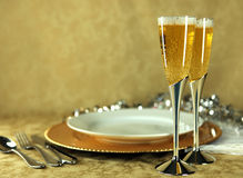 Champagne Before Dinner Royalty Free Stock Image