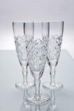 Champagne-Dreieck Stockfotografie