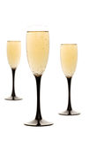 Champagne drinks Stock Images