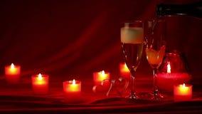 Champagne e velas filme