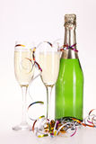 Champagne en partij Stock Fotografie