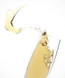 Champagne espirra Fotos de Stock
