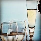 Champagne in Eze Royalty Free Stock Photo