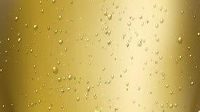 champagne för luftbubblor Fotografering för Bildbyråer