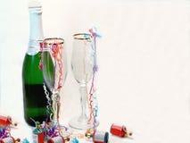 Champagne-Feier Stockfotos
