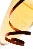 Champagne-Flöteabschluß oben. Stockbilder
