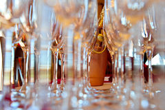 Champagne-Flöten Lizenzfreie Stockfotos